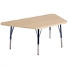 "ECR4Kids 30""x60"" Trap Maple/Maple/Navy Toddler SG"