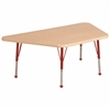 "ECR4Kids 30""x60"" Trap Maple/Maple/Red Toddler BG"