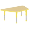 "ECR4Kids 30x60"" Trap Table Maple/Yellow-Chunky"