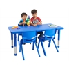"24"" x 48"" Resin Adjustable Activity Table, BL"