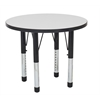 "30"" Round Dry-Erase Activity Table with Chunky Leg"