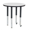 """30"""" Round Dry-Erase Activity Table with Super Leg"""