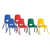 "ECR4Kids 16"" Stack Chair-Matching Legs-6pc-AS"