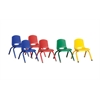 10in Stack Chair-PtdG-6pc-ASG
