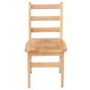 "14"" North American Oak Ladderback Chair, set of 2"