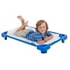 ECR4Kids Stackable Kiddie Cot Tod. with Sheet RTA - BL, set of 6
