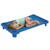 ECR4Kids Streamline Cot Single Toddler ASM - Blue