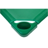 Standard Stackable Kiddie Cot - Green, set of 5