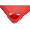 ECR4Kids Standard Stackable Kiddie Cot - Red, set of 5
