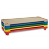 ECR4Kids Standard Stackable Kiddie Cot, 5-Piece - AS