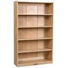 """ECR4Kids 60""""H Classic Birch Bookcase"""