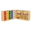 "Fold & Lock 20 Tray Cabinet & 30"" Storage- AS"