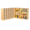 "Fold & Lock 25 Tray Cabinet & 36"" Storage- CL"
