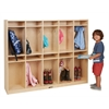 Birch 10-Section Storage Locker