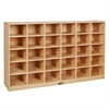 Birch 30 Cubby Tray Cabinet