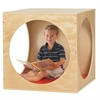 ECR4Kids Birch Playhouse Cube with Mat