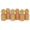 ECR4Kids 6 Pc Hardwood People