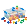 ECR4Kids Twist and Lock Nuts and Bolts, set of 4
