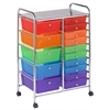 15 Drawer Mobile Organizer - Assorted