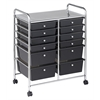 12 Drawer (8+4) Mobile Organizer - Smoke