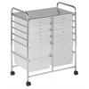 ECR4Kids 12 Drawer (8+4) Mobile Organizer - White