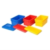 ECR4Kids Stack & Store Tub with Lid, 6 Piece - AS