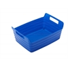 Small Bendi-Bin with Handles - Blue, set of 12