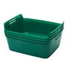 Medium Bendi-Bin with Handles - Green, set of 12