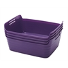 Medium Bendi-Bin with Handles - Purple, set of 12