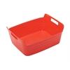 Medium Bendi-Bin with Handles - Red, set of 12