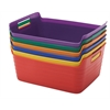 Large Bendi-Bin with Handle, Assorted