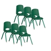 "14"" Stack Chair - Painted Legs - GNG, set of 6"