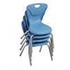 "12"" Contour Chair - PowderBlue, set of 4"