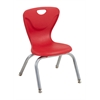 "12"" Contour Chair - Red, set of 4"