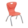 "12"" Contour Chair - Tangerine, set of 4"