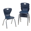"14"" Contour Chair - Navy, set of 4"