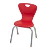 "14"" Contour Chair - Red, set of 4"