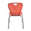 "14"" Contour Chair - Tangerine, set of 4"