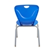 "18"" Contour Chair - Blue, set of 4"