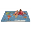 Animals of the World Activity Rug, 6'x9' Rect
