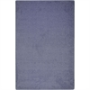 Kid Essentials - Misc Sold Color Area Rugs Endurance, 6' x 9', Glacier Blue