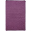 Joy Carpets Kid Essentials - Misc Sold Color Area Rugs Endurance, 6' x 9', Purple