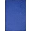 Joy Carpets Kid Essentials - Misc Sold Color Area Rugs Endurance, 6' x 9', Royal Blue