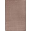 Joy Carpets Kid Essentials - Misc Sold Color Area Rugs Endurance, 6' x 9', Taupe