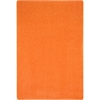 Joy Carpets Just Kidding Just Kidding, 12' x 8', Tangerine Orange