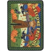 "Kid Essentials - Early Childhood Welcome Friends Seasonal 4-Mat Set, 23"" x 33"", Multicolored"