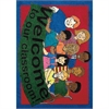 "Joy Carpets Kid Essentials - Early Childhood Welcome To Our Classroom, 23"" x 33"", Multicolored"