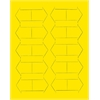 "3/4"" yellow magnetic arrows 20/pk"