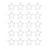 "Magna Visual 3/4"" white magnetic stars 20/pk"