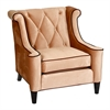 ARMEN LIVING Barrister Chair In Caramel Velvet